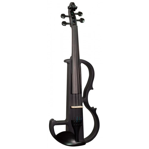 Electric Violin Outfit 4/4 - Black Satin Finish