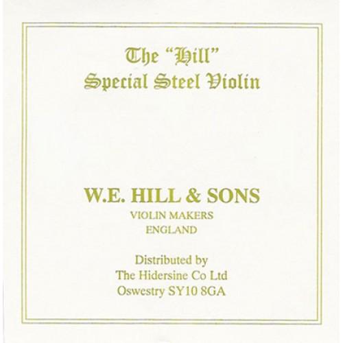 Hill String Violin E. Loop End. Medium