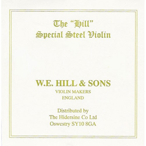 Hill String Violin E. Ball End. Strong