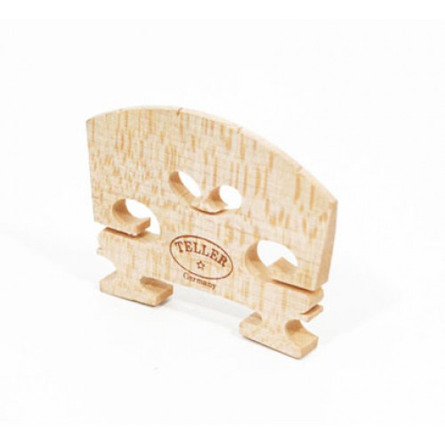 Violin Bridge - Josef Teller Bridge - Shaped and Fitted - 1/16