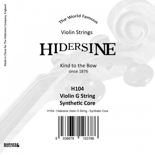 Violin G String - Sythetic Core 4/4