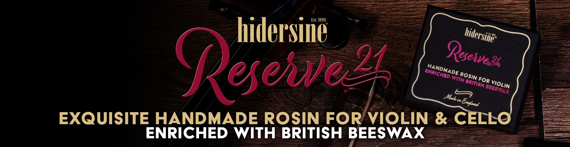 Hidersine-Reserve-21-Web-Banner