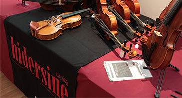 Should I buy a violin from a music store? - Hidersine