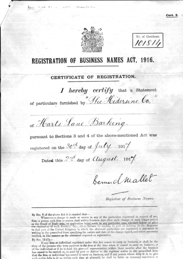 Dated Document
