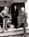 Desmond Hill, David Hill & Andrew Hill at Havensfield circa 1974 (Left to Right)