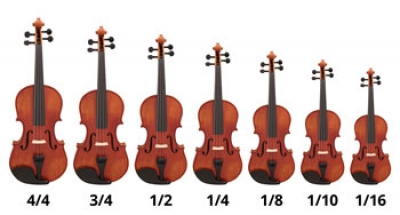 what size violin do i need hidersine orchestral instruments and accessories. Black Bedroom Furniture Sets. Home Design Ideas